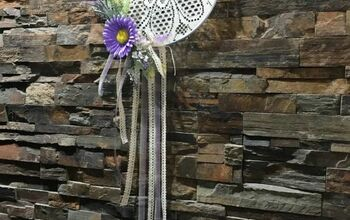 Floral Lace Dreamcatcher Tutorial