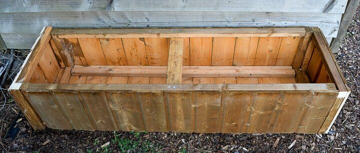 garden planter made from an old shed upcycle your garden shed