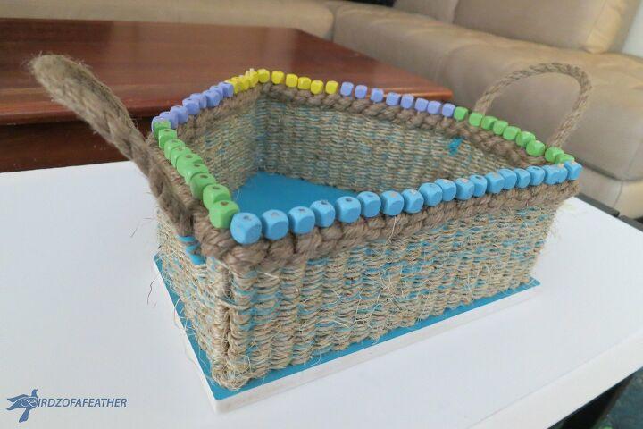 Plant Storage woven basket