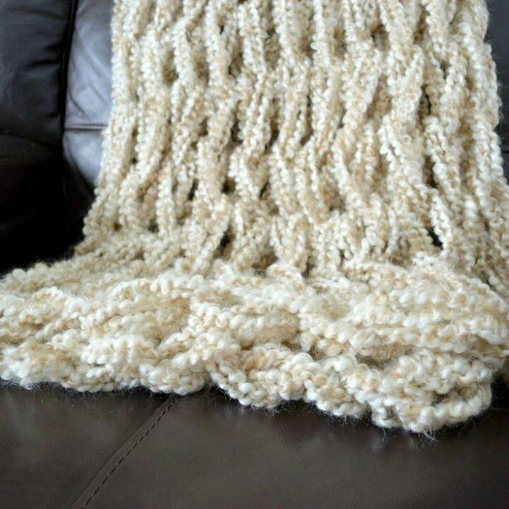 Arm Knit Blanket