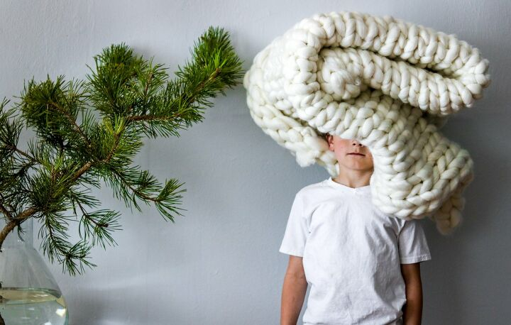 chunky knit blanket ideas