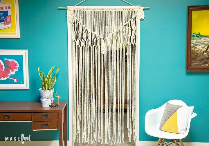 s macrame, Beautiful Macrame Wall Hanging with Yarn