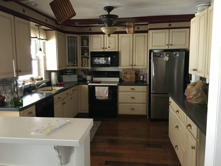 my kitchen was horrendous makeover approximately 200