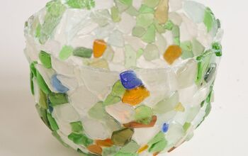 How to Make a Bowl From Sea Glass