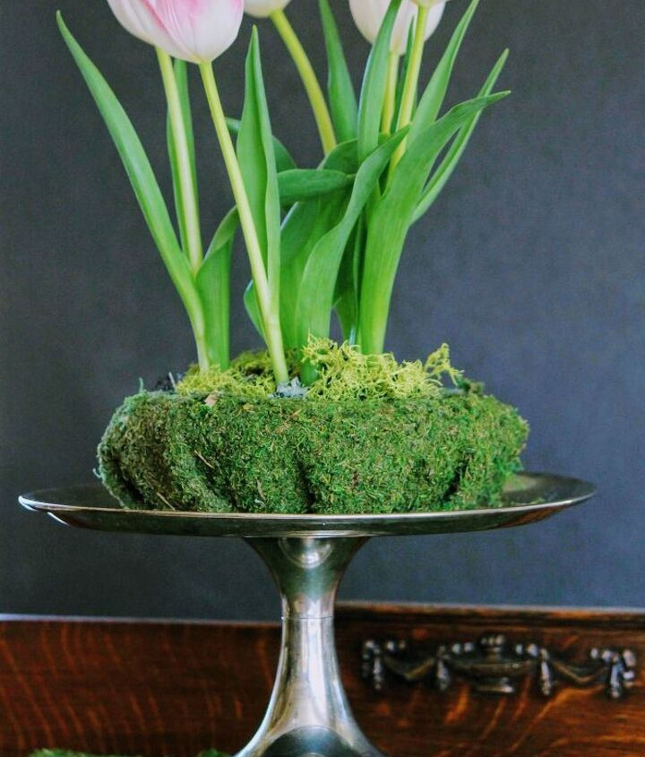 elevated tulips for easter and beyond