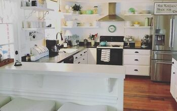 Kitchen Makeover ~ .. Approximately $200!