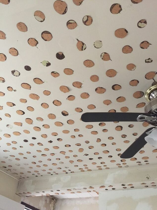 q how do i remove panel adhesive from ceilings
