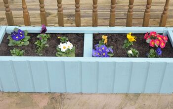 Garden Planter Made From an Old Shed - Upcycle Your Garden Shed