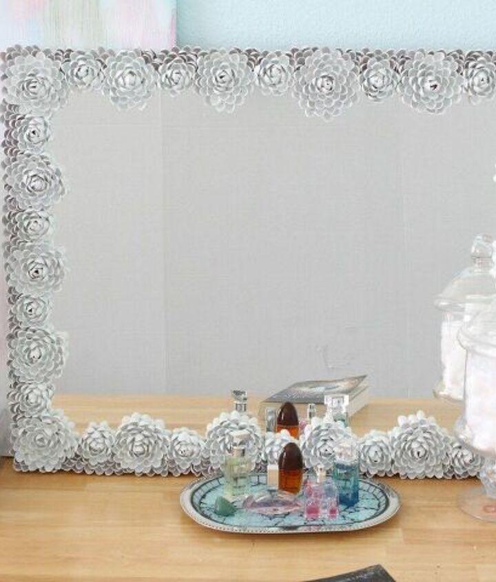 Pistachio Shell mirror Frame