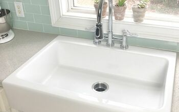 How to Install a Farmhouse Drop in Sink.