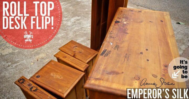 roll top desk flip