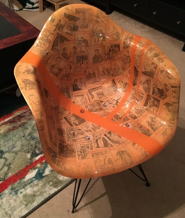 Plastic to Retro Office Chair