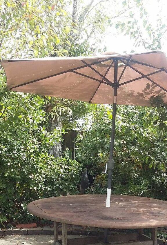 q how to revive a patio umbrella