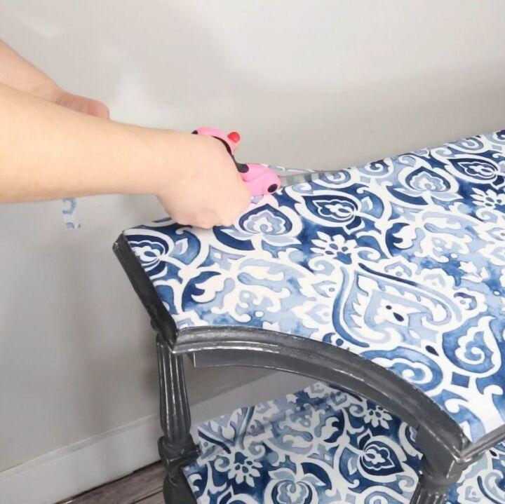 fabric table flip