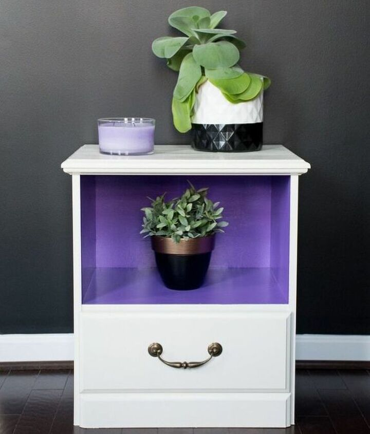 making over two free nightstands from a neighbor