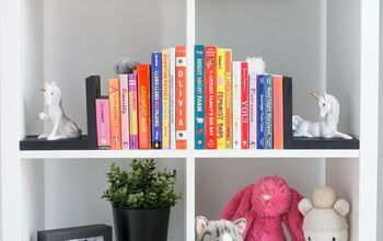 Thrifted Unicorn Bookends