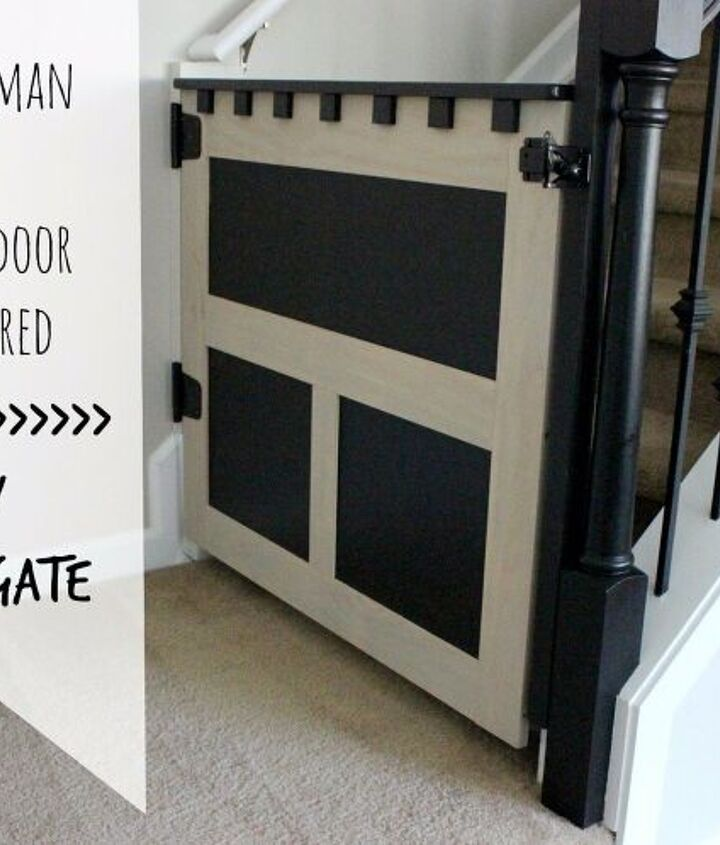 s diy baby gate, Something Different A Craftsman Baby Gate
