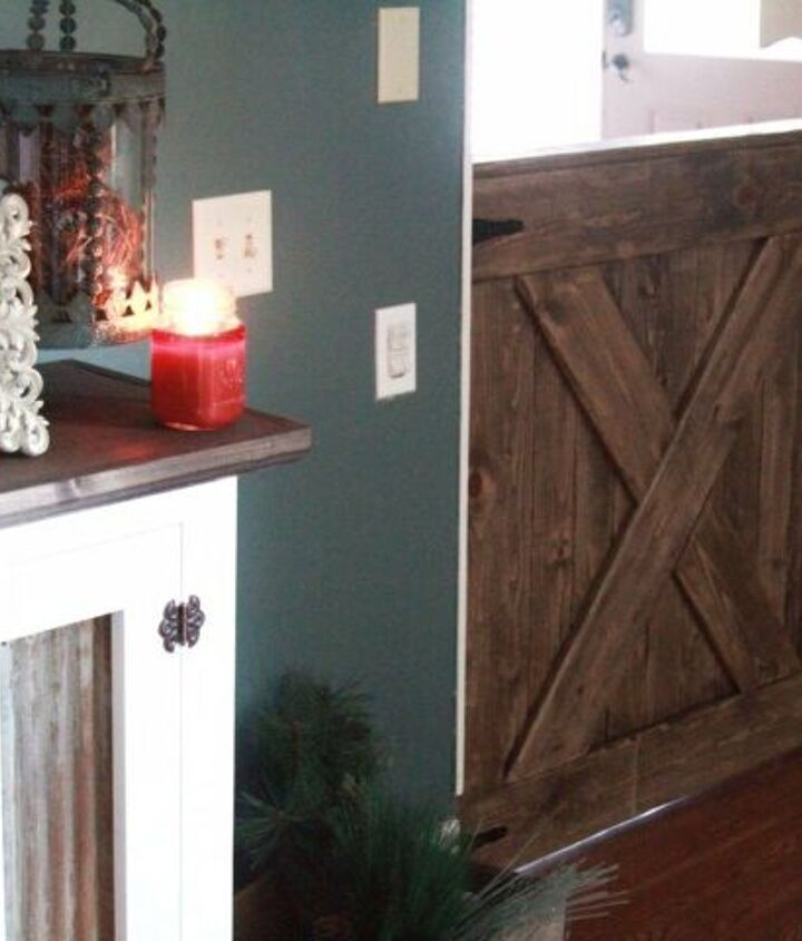 s diy baby gate, Extra Wide Barn Style Baby Gate