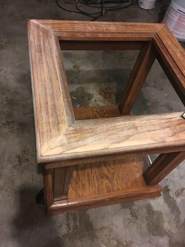 Oak Side Table: How To Paint An Oak Side Table DIY
