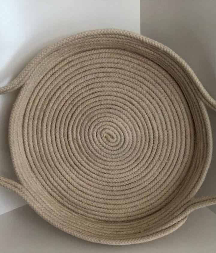diy rope tray