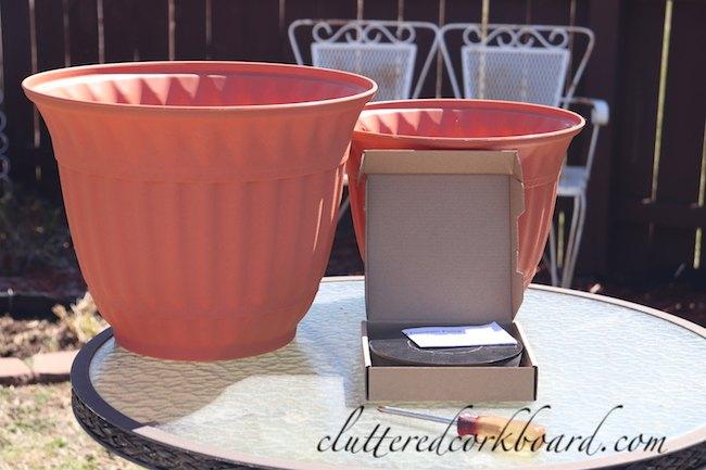 diy inexpensive solar fountain for the garden