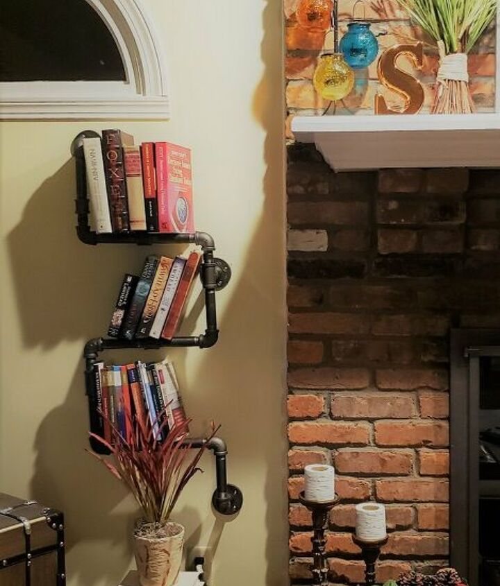 s 12 creative shelf builds, Industrial Piping