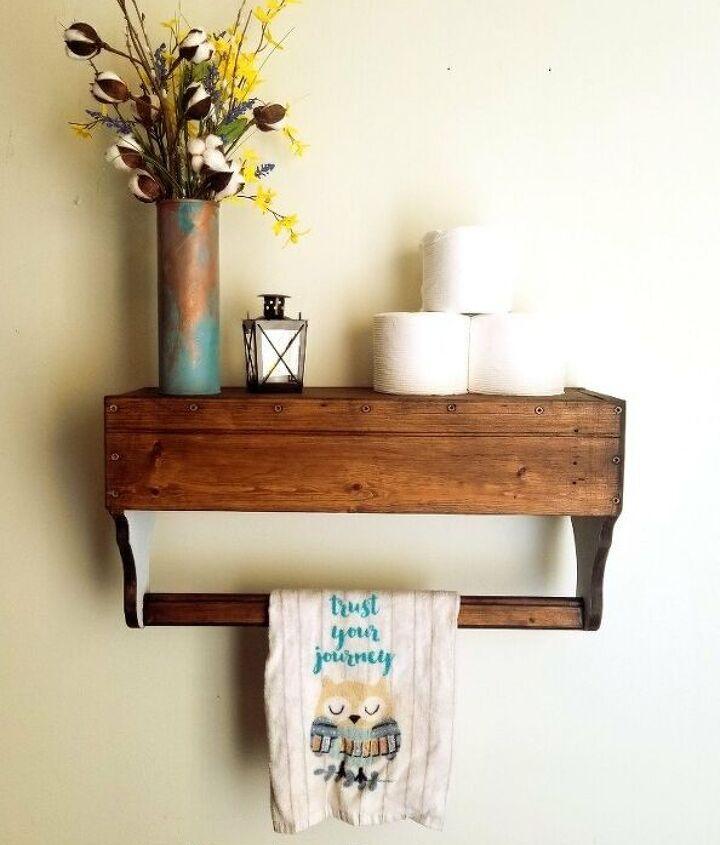 s 12 creative shelf builds, Vintage Toolbox