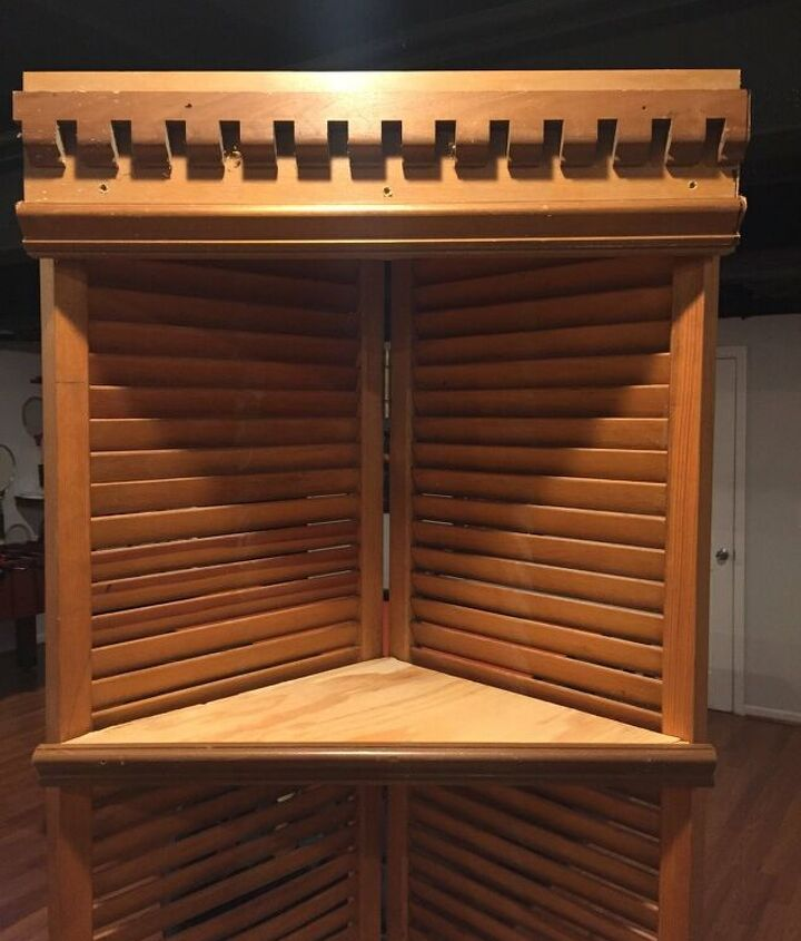 s 12 creative shelf builds, Use old shutters