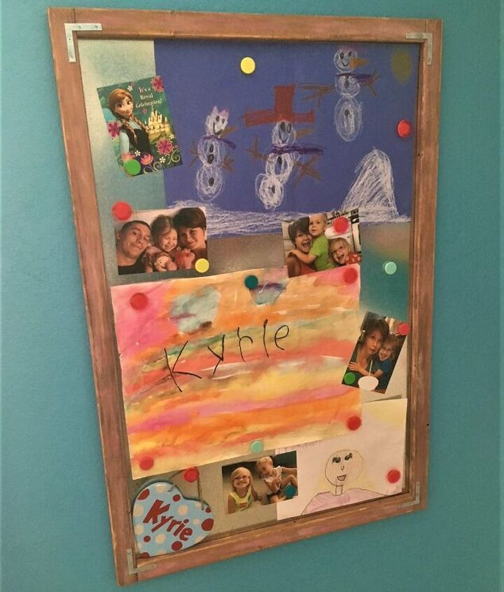 s 14 trendy wall decor ideas for 2019, Rustic Magnetic Board