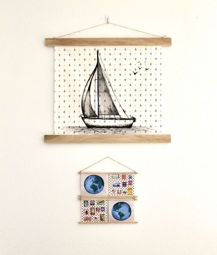 s 14 trendy wall decor ideas for 2019, Deconstructed Canvases
