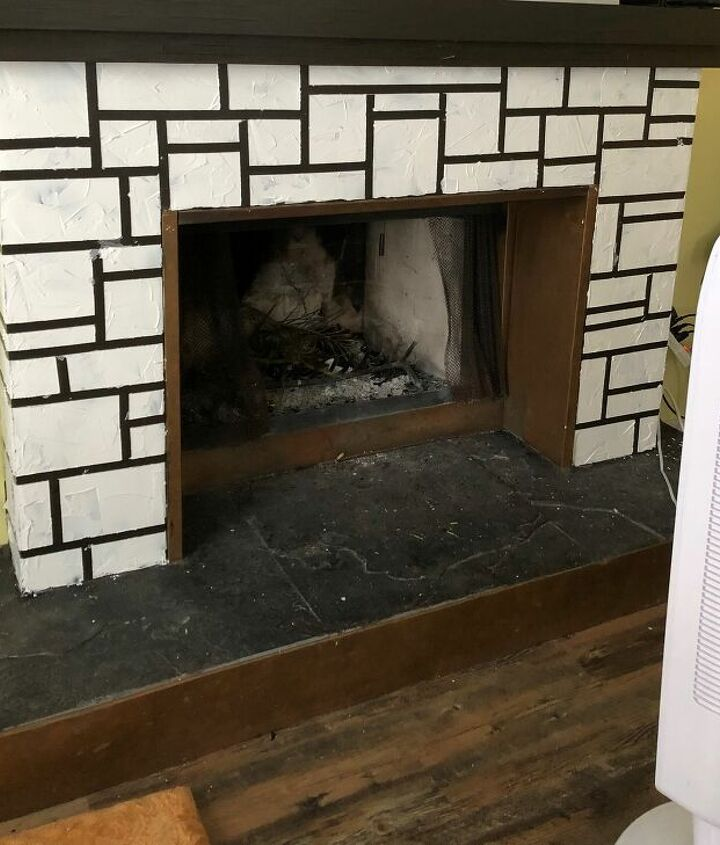 s faux finishes that ll take your fireplace to the next level, Paint on the bricks of your dreams
