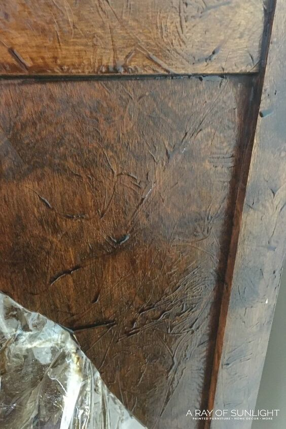 diy weathered wood dresser