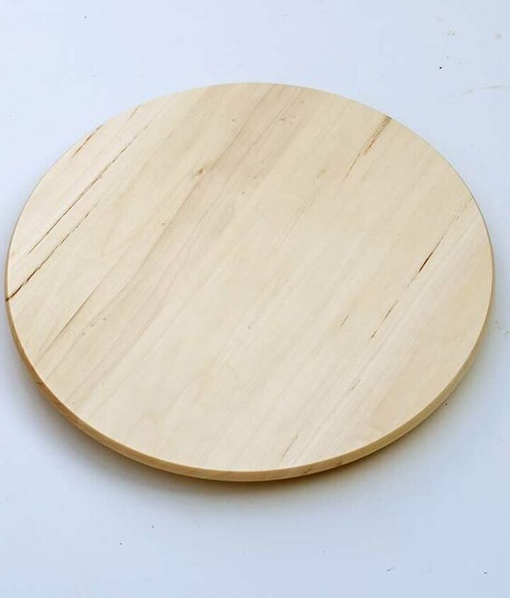 vintage cheese label lazy susan cheese board