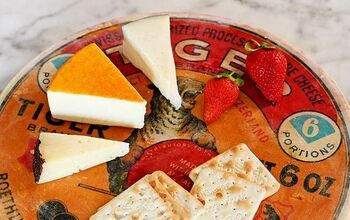 Vintage Cheese Label Lazy Susan (cheese Board).
