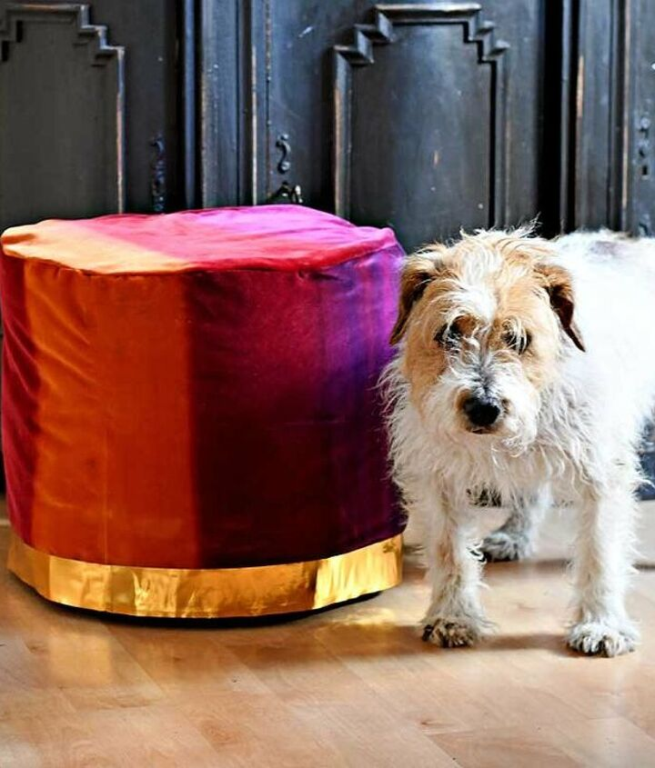s velvet ideas, From Velvet Curtains To Glamorous Floor Pouf