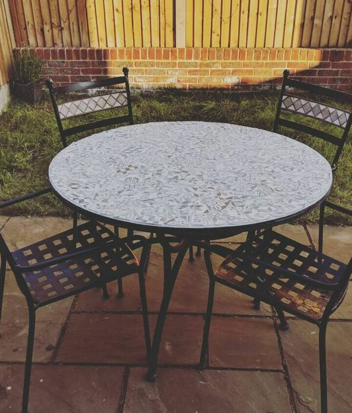 s 18 projects to prepare your outdoor space for summer, Give your outdoor furniture an artsy look