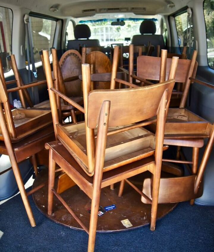 s furniture repair hacks that will make you go no way, Persimmon juice as wood stain