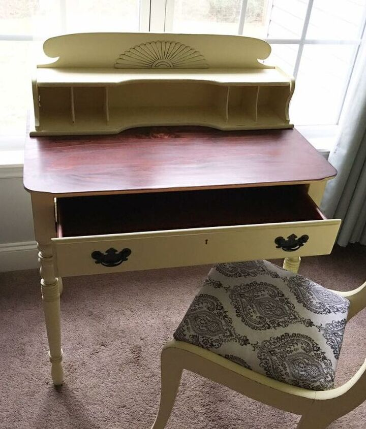 s 12 desks that will keep you organized, This vintage inspired writing desk