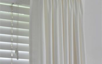 How to Make Ikea Ritva Curtains Look Like Expensive Custom Made Drapes