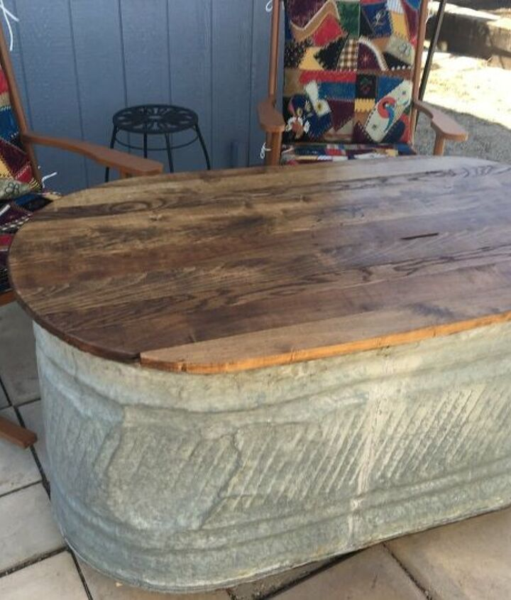 s just a bit of plywood can take your backyard to the next level, Create a table top for your patio
