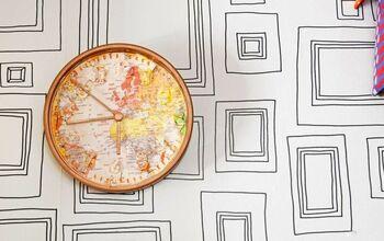 IKEA Stomma Map Clock Hack