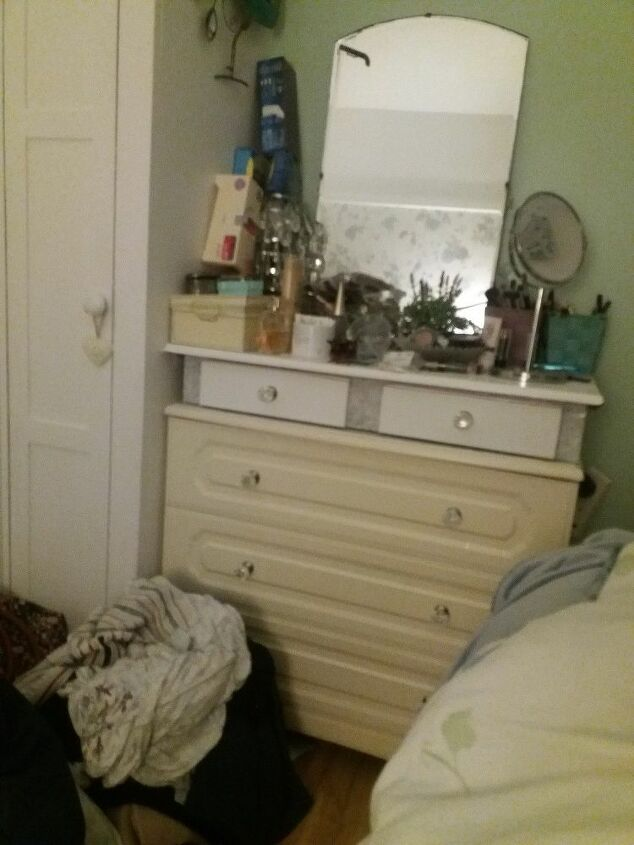 q how do i update this old chest of drawers