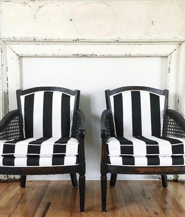 the black white striped twins