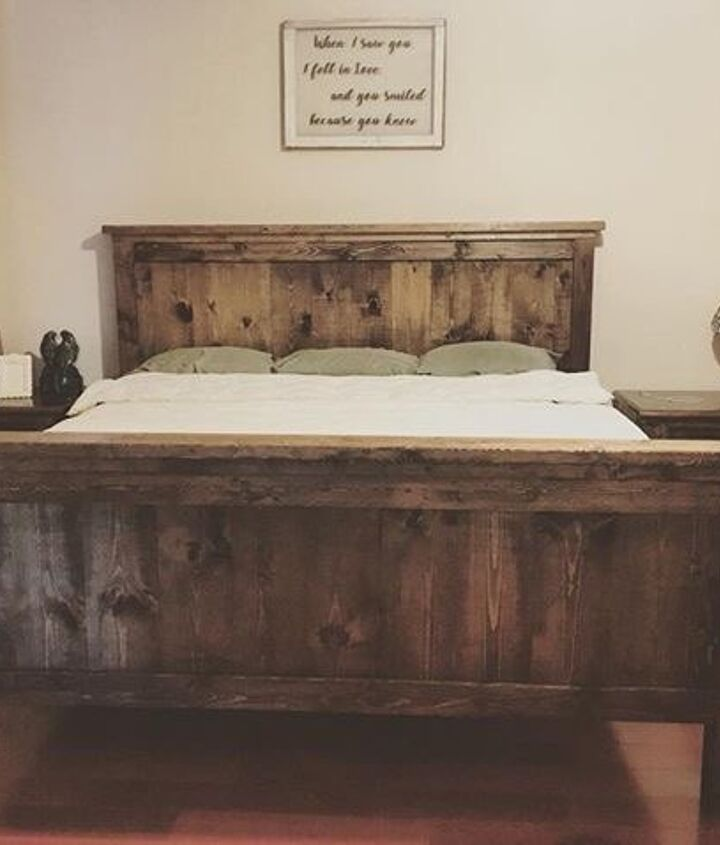 s is the farmhouse trend over 15 projects that will make you say no, This bedroom set made for napping