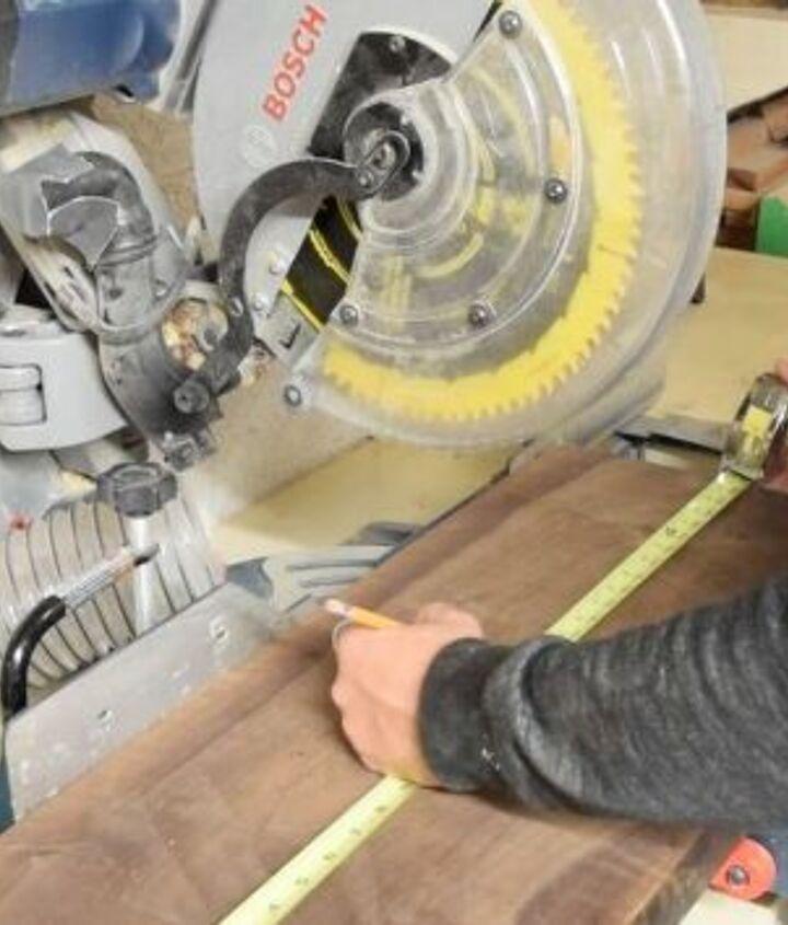 walnut cutting board with epoxy resin
