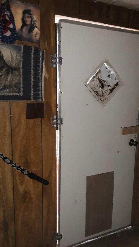 q mobile home exterior door