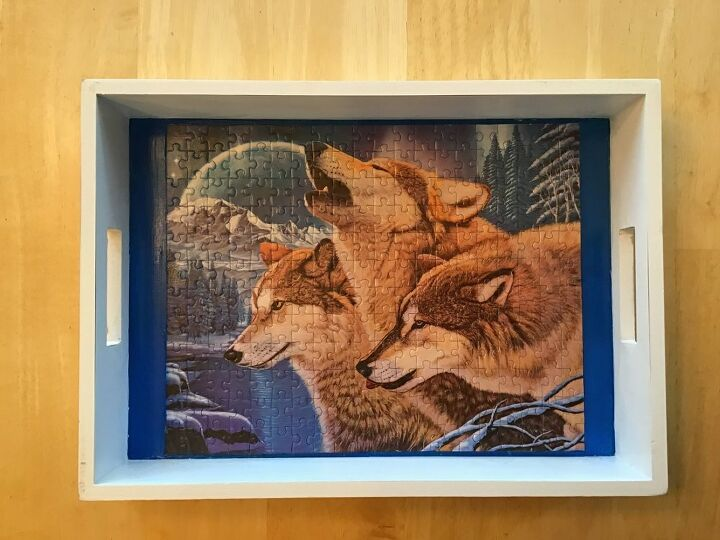 unique way to preserve a puzzle
