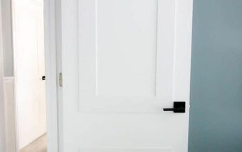 Add Molding to Flat Panel Interior Doors