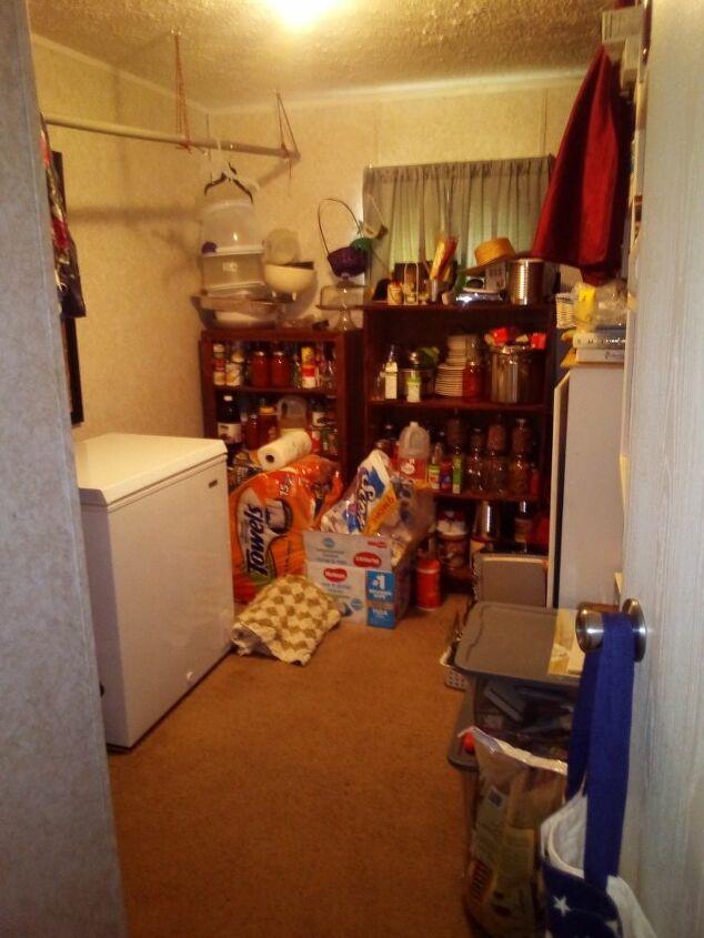 q i need a way to organize my food storage room