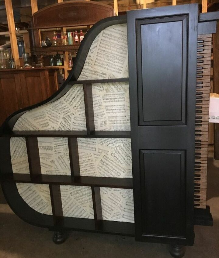 A Stunning Piano Bookcase